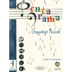 Pentagrama Llenguatge Musical 4 Elemental