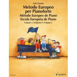 Método Europeo de Piano Vol.1