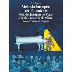 Método Europeo de Piano Vol. 3