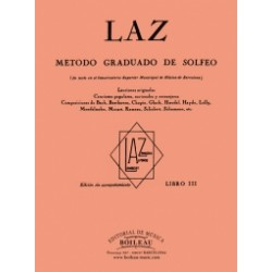 LAZ Vol. 3 Mètode solfeig