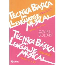 Tècnica Bàsica Ll.Musical 1/2 Grau Mitjà