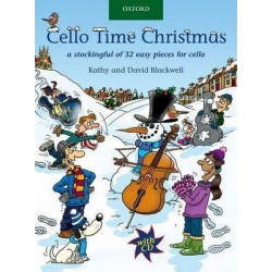 Cello Time Christmas + CD
