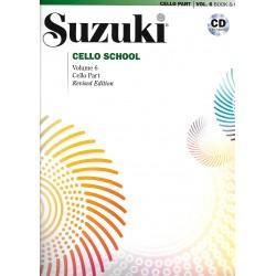 Cello School Volume 6