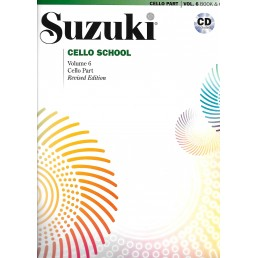 Cello School Volume 6