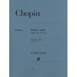 Etude in c minor Op. 10 n. 12