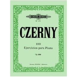 100 Ejercicios para piano Op. 139