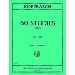 60 Studies for Horn Book 1