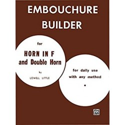Embouchure Builder for Horn in F and Double Horn