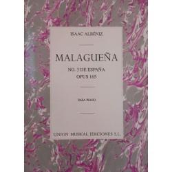 Malagueña N.3 de España Op. 165