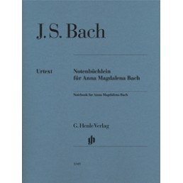 Notebook for Anna Magdalena Bach (Urtext)