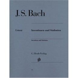 Invenciones y sinfonias Urtex BWV.772-801