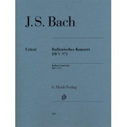 Italian Concerto BWV 971 Urtext
