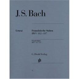 Suites francesas BWV 812-817 -urtext-