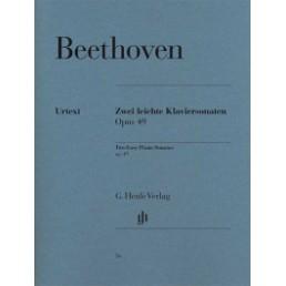 Klaviersonaten Op. 49 N.1 and 2