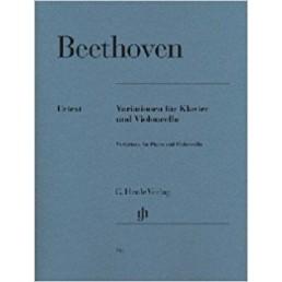 Variaciones para piano y violoncello