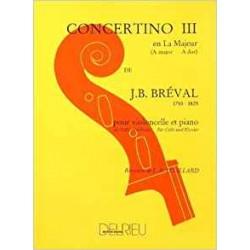 Concertino nº 3 en La M