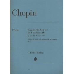 Sonata for Piano and Cello in g minor Op.65 Urtext