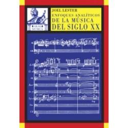 Enfoques análiticos Música Siglo XX