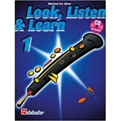 Look, listen & learn 1 Oboe + CD (Inglés)