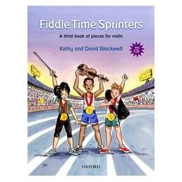 New Fiddle Time Sprinters V.3 + CD