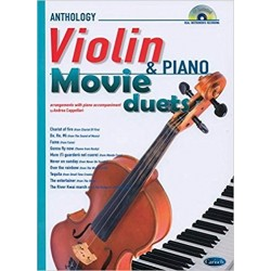Anthology Violin & Piano + CD Movie Duets