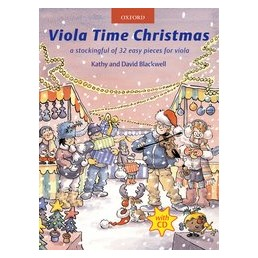 Viola time Christmas+ CD