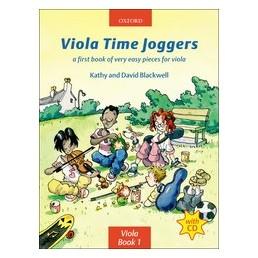 Viola Time Joggers V. 1 + CD
