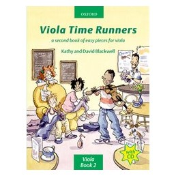 Viola time Runners Book 2 + CD