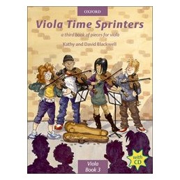 Viola time Sprinters Book 3 + CD
