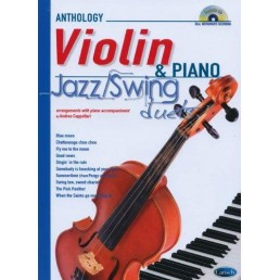 Anthology Violin & Piano + CD Jazz Swing Duets