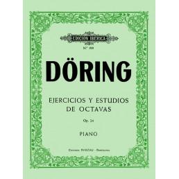 Ejercicios y 16 Estudios octavas Op.24