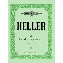 26 Estudios melódicos Op.16 Libro 1 IV