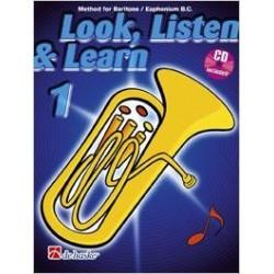 Look, listen & learn Baritone/Euphonium B.C.
