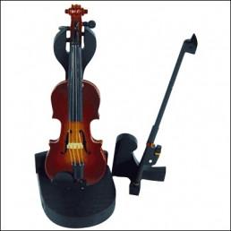 Mini violí 10 cms amb stand PV10