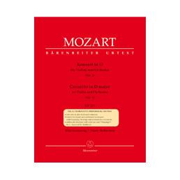 Concerto nº 2 in D major KV 211 Urtext