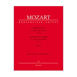 Concerto Nº 5 in A Major KV 219 Urtext