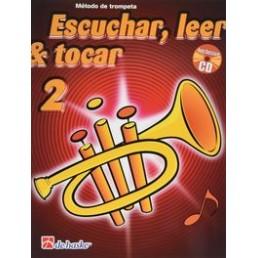 Escuchar, leer & tocar 2 Trompeta + CD