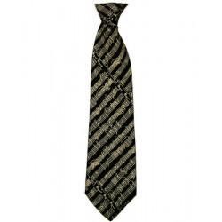 Corbata partitura negra