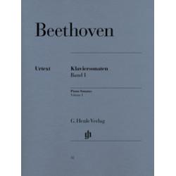 Sonatas piano Vol.1 (Urtex)