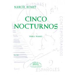 Cinco nocturnos para piano