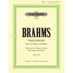 Variationen thema J. Haydn Op. 56b