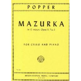 Mazurka en G menor, Op. 2, No.3