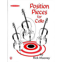 Position Pieces for cello Book 1