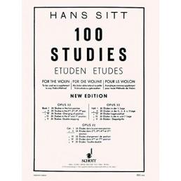 Sitt. 100 Studies Op.32 Vol. II