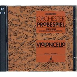 Orchester Probespiel Violoncello 2CD