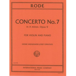 Concerto nº 7 in A minor Op. 9