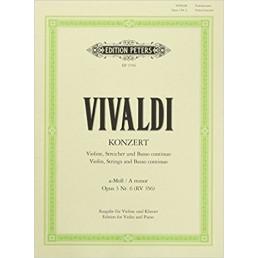 Concert A minor Op.3 Nr. 6
