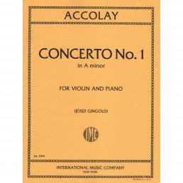 Concerto n.1 in A minor